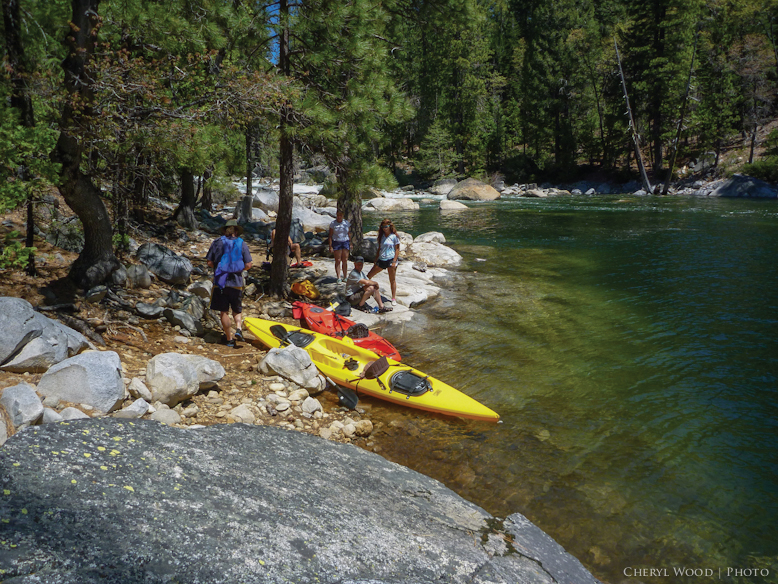 Lake Spaulding Kayaking and Canoeing